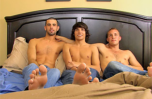 Post-Threesome with Jake, Jacob & Alex