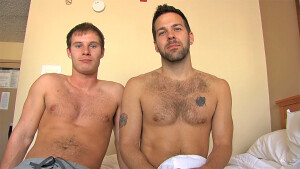 Gay Anal Porn : Behind The Scenes With Preston Steel And Tyler Andrews - My Husband Is Gay!